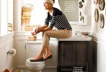 powder room & small bath / by Kate Mc Rugg