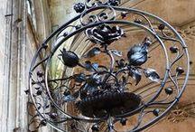 Gates..Iron and Wood