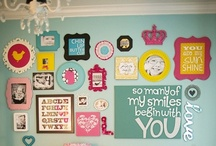 Girl Power / Girl Power is inspired by GIRLS! Bright Colors, Bows, Dresses, Pretty Things, Girl's Room,