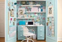 Organization  / Organization is inpsired by being organized and productive- Craft Room Organization, Household Chores, Innovative Organization