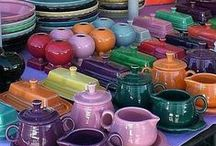 Fiestaware / by Kimberly King