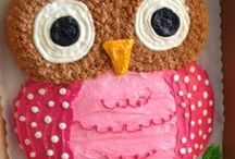 Baby shower inspiration / owls, baby shower, girl baby