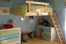loft beds / by andrea d