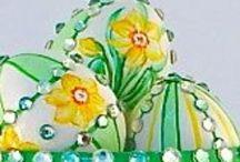 Patricia Breen Easter Ornaments / by Kim Ergin