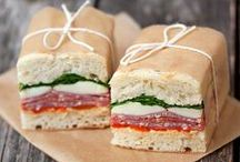 Yummy ~ Sandwiches / Mmmmmm...... sandwiches / by BossyBabyWorkshops