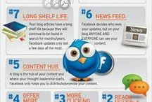 Infographics / Infographics about education ans social media
