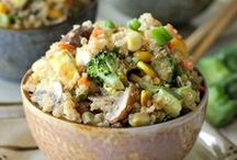 {rice quinoa}