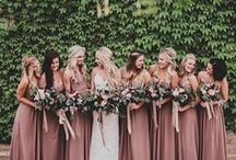 Bridesmaids / The inspiration for your dream Wedding Bridesmaids!