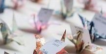 Wedding Place Card Ideas / The inspiration for your dream Wedding Place Card!