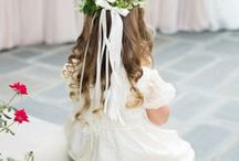 Wedding Flower Girl Ideas / The inspiration for your dream Wedding Flower Girl Ideas!