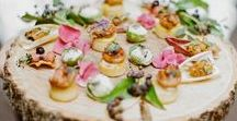 Wedding Food Ideas / The inspiration for your dream Wedding Food Ideas!  If you would like to join this board please email us your Pinterest URL at hi@weddingdresses.com, with the Name of the Board + Invitation Request as the subject.  Or simply send us a Pinterest Message.  Pin away, but please pin only 5 pins a day. ❤️
