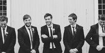 Groomsmen / The inspiration for your dream Wedding Groomsmen!
