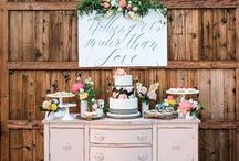 Dessert Table / The inspiration for your dream Wedding Dessert Table!