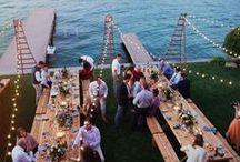 Lake Wedding / The inspiration for your dream Lake Wedding!