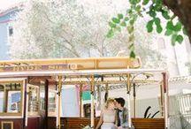 San Francisco Wedding / The inspiration for your dream San Fransisco Wedding!