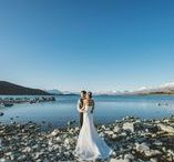 New Zealand Wedding / The inspiration for your dream New Zealand Wedding!