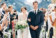 Canada- Rocky Mountain Wedding / The inspiration for your dream Rocky Mountain Wedding!