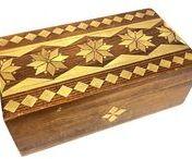 polish folk art wooden boxes