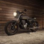 Honda XBR 500 Great Gatsby / Beautiful classic cafe racer inspired by art deco style built in UNIKAT Motorworks workshop from Wroclaw (Poland)