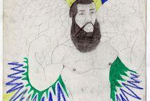 Treger/Saint Silvestre Collection / Art Brut, Outsider Art, self-taught art, marginal art, contemporary and vudu art