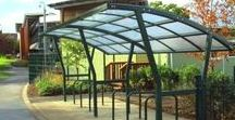 Cycle Shelters / View our range of cycle shelters / bike shelters, which can be bespoke for any area.