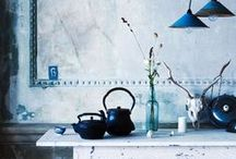 out of the BLUE interiors / home styling inspirations in blue hues - wohn-inspirationen in blautönen