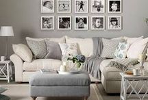 Decor - Going Grey / Grey is the new neutral for home decor. I LOVE grey..I just find it so calm and peaceful. Plus it goes with practically everything!
