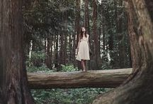 Into the forest / Woods, camping, flannel and serenity!  / by Nichol Wilson