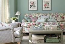 Decor - Shabby Chic, Vintage and Pretty / Ideas and inspiration for shabby chic style decor