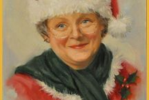 Mrs. Claus (Minicast) / A board to accompany the Mrs. Claus episode of The History Chicks podcast