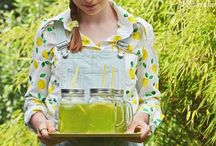 LEMONADES & summer DRINKS / recipes for a perfect drinks for a hot summer day