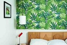 TROPICAL LEAVES & CACTUS crush / DIY & interior inspirations all about cactii, palm trees and tropical leaves