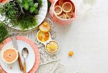 TABLE SETTING inspirations / table settings with beautiful dishware to inspire
