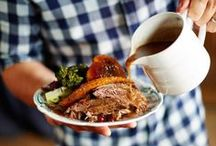Xmas DINNER ideas / inspirations & recipes for a great family christmas dinner