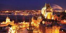 Québec sous la lune