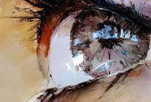 Eyes / Drawing & painting