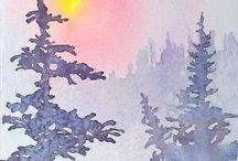 Art / Watercolor paintings