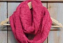 Tickled Pink Winter Scarves