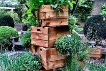 vertikale Gärten und Pflanzgefäße / Pflanzgefäße für Garten oder Balkon, Urbangardening, vertikale Gärten, vertical gardening