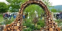Gartengestaltung I Naturgartenideen / Gartengestaltung Naturgarten, DIY Garten, Gatenhäuser, Zäune, Hecken, Mauern, Sichtschutz, Gartenwege, Gartenzonen