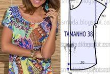 Szabásminták, Dress pattern