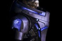 "ME | Garrus Vakarian / archangel | ""It's so much easier to see the world in black and white. Gray... I don't know what to do with gray."""