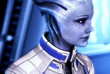 "ME | Liara T'Soni / prothean expert | shadow broker | ""I've got all the secrets of the galaxy at my fingertips. Give me 10 minutes and I could start a war."""