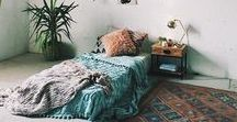 Teal Boho Home / Boho home decor inspiration for a Bohemian home with a global aesthetic. Featuring boho style rooms and boho furniture choices with lots of teal, aqua, turquoise, and pink. Just 'cause I like those colors a lot.