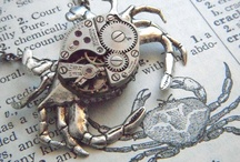 Jewelry: Organic Steampunk and Repurposed Pieces / softer steampunk / by Lee Hethcox