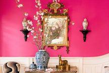 Dream Decor / Decorating ideas, fun, colorful, boho, bohemian, whimsical, artsy, anthropologie / by Sue Carter