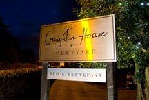 Craigatin House at Night