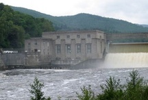 Pitlochry Dam & Fish Ladder / The famous Pitlochry Dam and Fish Ladder in Pitlochry, Perthshire, Scotland