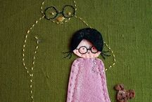 sewing and embroidery / by Sue Carter