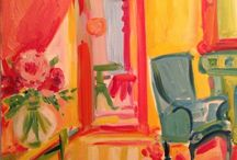 Paintings - interior / by Sue Carter